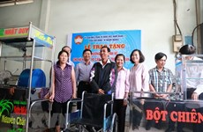Giảm nghèo ở Thành phố Hồ Chí Minh: Khơi gợi ý chí tự lực thoát nghèo