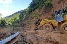 Sạt lở núi vùi lấp 11 người tại Phước Sơn: Tìm kiếm 8 nạn nhân còn lại