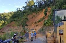 Vụ sạt lở núi ở Trà Leng: Chạy đua với thời gian tìm các nạn nhân