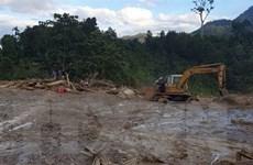 Vụ sạt lở đất tại Trà Leng: Tiếp tục tìm kiếm 14 người mất tích