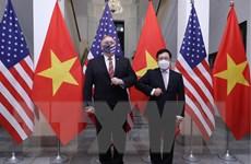 PTT, Bộ trưởng Phạm Bình Minh hội đàm với Ngoại trưởng Hoa Kỳ
