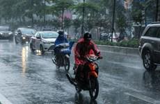 Không khí lạnh gây mưa tại khu vực Bắc Bộ và Bắc Trung Bộ