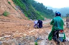 Tìm thấy hai thi thể người dân bị mất tích do sạt lở đất ở Quảng Trị