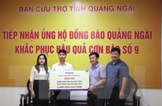 Bão số 9: Quảng Ngãi tiếp nhận hơn 63 tỷ đồng hỗ trợ người dân