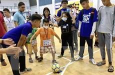350 trẻ rối loạn tự kỷ tham gia Ngày hội thể thao và tri ân thầy cô