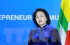 Nữ doanh nhân ASEAN chủ động ứng phó với COVID-19 và biến đổi khí hậu