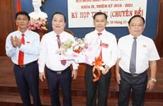Ông Trần Văn Lâu được bầu giữ chức Chủ tịch UBND tỉnh Sóc Trăng
