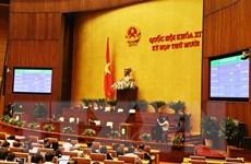 Đại biểu Quốc hội biểu quyết thông qua Luật Biên phòng Việt Nam