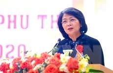 Phó Chủ tịch nước dự Đại hội thi đua yêu nước tỉnh Phú Thọ