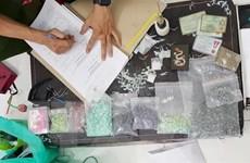 Bình Dương: Triệt phá một lò sản xuất ma túy số lượng lớn