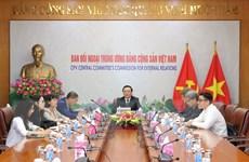 Trao đổi giữa Đảng Cộng sản Việt Nam và Đảng Dân chủ Xã hội Đức