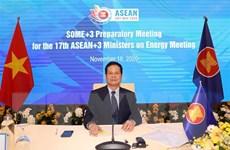 Họp trù bị chuẩn bị cho Hội nghị Bộ trưởng ASEAN+3 về năng lượng