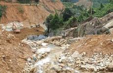 Vụ Rào Trăng 3: Hoàn thành 80% khối lượng công việc đào nắn dòng chảy