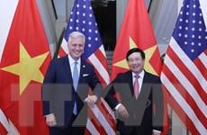 Phó Thủ tướng Phạm Bình Minh hội đàm với Cố vấn Hoa Kỳ Robert O'Brien
