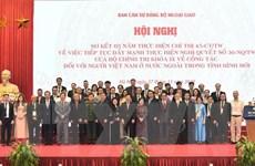 Nâng cao hiệu quả chính sách chung dành cho người Việt ở nước ngoài