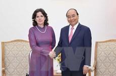 Thủ tướng Nguyễn Xuân Phúc tiếp Đại sứ Cuba đến chào từ biệt