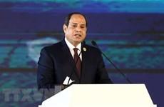 Tổng thống al-Sisi thăm Pháp, giới thiệu 'tầm nhìn của Ai Cập'