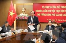 Tổ công tác của Thủ tướng làm việc với lãnh đạo Bộ Giáo dục và Đào tạo