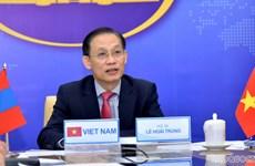 Tham khảo chính trị cấp Thứ trưởng Ngoại giao Việt Nam-Mông Cổ