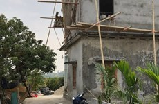 Thái Bình: Sập giàn giáo khiến 3 người tử vong thương tâm