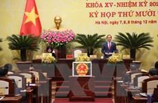 Ông Nguyễn Ngọc Tuấn được bầu giữ chức Chủ tịch HĐND thành phố Hà Nội