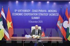 Thủ tướng Nguyễn Xuân Phúc dự Hội nghị Cấp cao ACMECS lần thứ 9