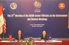 ASEAN hợp tác chặt chẽ để giải quyết các vấn đề về môi trường
