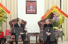 Phó Thủ tướng Trương Hòa Bình chúc mừng đồng bào Công giáo dịp Lễ Noel