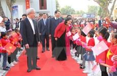 Trưởng Ban Dân vận Trung ương chúc mừng Giáng sinh Giáo phận Thanh Hóa