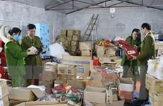 Thái Nguyên: Phát hiện kho hàng mỹ phẩm, thực phẩm nghi ngờ nhập lậu