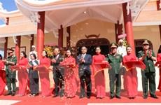 Khánh thành Đền thờ liệt sỹ Khu di tích quốc gia khu vực Đồn Long Khốt