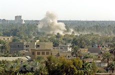 Lại xảy ra tấn công bằng rocket nhằm vào Đại sứ quán Mỹ tại Iraq