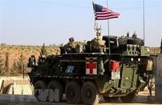 Đoàn xe quân sự Mỹ tiến vào khu vực Đông Bắc Syria