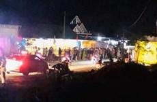 Tai nạn trước ngôi nhà đang tổ chức tang lễ, 5 người thương vong
