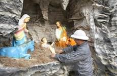 Ninh Bình: Rộn ràng không khí đón Giáng sinh tại Nhà thờ đá Phát Diệm
