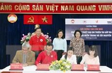 Xây 100 căn nhà ủng hộ người dân các tỉnh miền Trung-Tây Nguyên