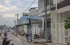 Cần Thơ: Các trụ điện 'bẫy người' ở quận Ninh Kiều đã được di dời