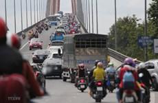 Phân luồng giao thông, giải quyết tình trạng ùn tắc tại cầu Rạch Miễu