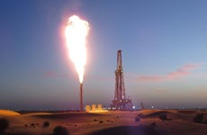 Tập đoàn dầu khí quốc gia UAE bắt đầu khai thác khí đốt tại Sharjah