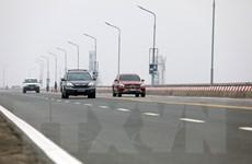 Những hình ảnh về buổi lễ thông xe Dự án sửa chữa cầu Thăng Long
