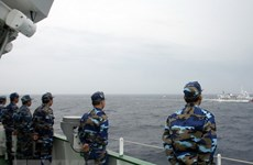 Việt Nam-Trung Quốc đàm phán về vùng biển ngoài cửa Vịnh Bắc Bộ