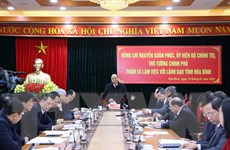 'Hòa Bình cần khai thác tốt hơn tiềm năng vị trí giáp ranh Thủ đô'