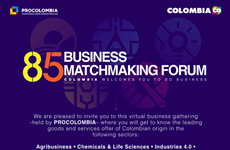 Diễn đàn kết nối doanh nghiệp Colombia: Mở rộng cơ hội giao thương