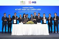 Ký kết hợp tác với MB, Novaland tối ưu hóa lợi ích của nhà đầu tư