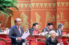 Thảo luận về các dự thảo Văn kiện trình Đại hội XIII của Đảng