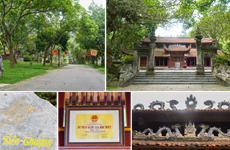 Hà Nội công nhận điểm du lịch Di tích quốc gia đặc biệt Đền Sóc