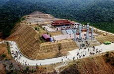 Gửi báo cáo đề cử Quần thể di tích và danh thắng Yên Tử tới UNESCO