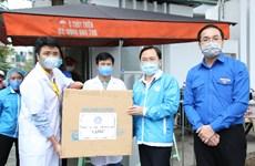 Gửi tặng khẩn cấp 1,5 triệu khẩu trang y tế cho tuyến đầu chống dịch