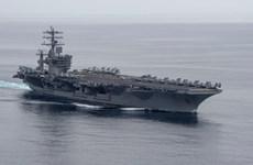 Rút tàu USS Nimitz ra khỏi Vùng Vịnh, Mỹ hạ nhiệt căng thẳng với Iran?