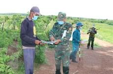 Quảng Bình kiểm soát chặt vùng biên, nỗ lực ngăn chặn dịch bệnh